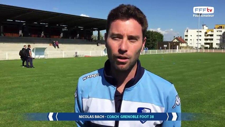 Dimanche 02/04/2017 à 13h45 - FCF Val d'Orge - Grenoble Foot 38 - D2 Fém. GrB - J18 (7)