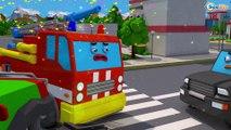 Ambulans ve Meraklı kamyon - Eğlenceli çizgi film - Yeni Ambulans Arabası - Bebek Türkçe İzle