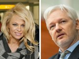 Pamela Anderson se jette finalement à l'eau pour Julian Assange !