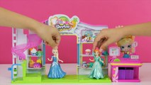 FROZEN Elsa BIRTHDAY SURPRISE for Anna! GIANT PLAY-DOH Egg Surprise Toys Num Noms Shopkins LPS Toys-5zpLqGAVHYI