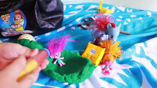 TROLLS MOVIE BRAIN BELLY Dreamworks Poppy Operation Brain Surgery Baby Poppy Trolls Kids Toys