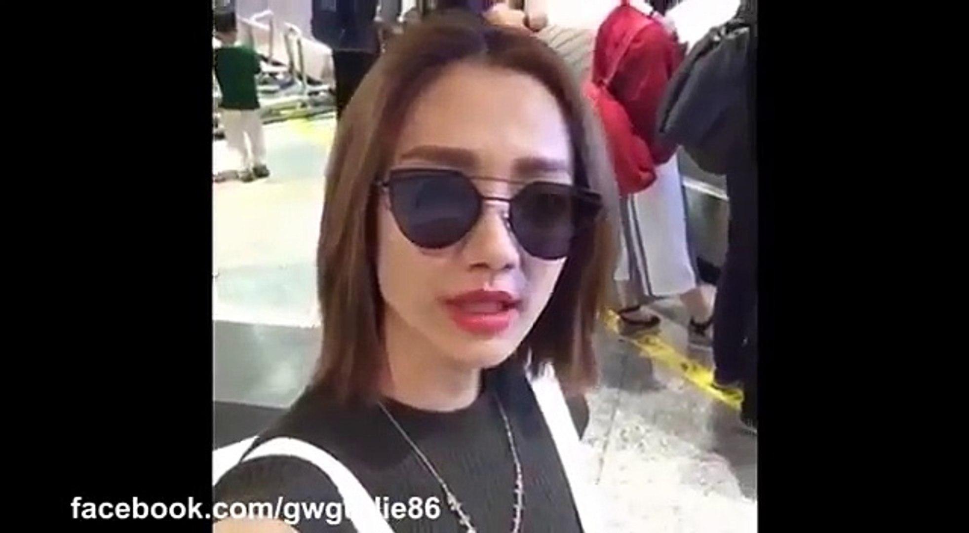 【Facebook】王君馨 Facebook Live@TVB Jade Pack 翡翠娱乐 - 食榴槤