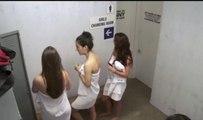 Men In Changing Room Shocked By Girl's Locker Room Prank !