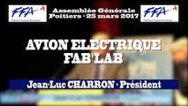 32 - FFA - AG2017 Poitiers - ATELIERS - AVION ELECTRIQUE - FAB'LAB