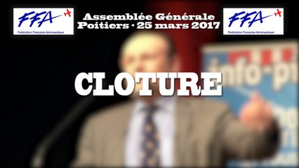 34 - FFA - AG2017 Poitiers - CLOTURE