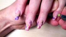 Acrylic nail art of Dream gel nails & Long painted nails
