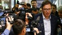 Présidentielles en Serbie : victoire dès le premier tour du Premier ministre Vucic