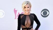 Savannah Chrisely Flaunts Major Cleavage in Super Revealing ACM Awards Gown