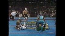 Espectro de Ultratumba/Ponzona/Espectro Jr vs Volador/Super Astro/Angel Azteca (CMLL April 5th, 1991)
