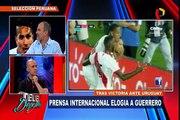 Prensa internacional elogió a Paolo Guerrero tras su desempeño en Perú vs. Uruguay
