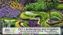 Best Landscaping and Irrigation Company in kelowna   OCI Landscaping irrigation