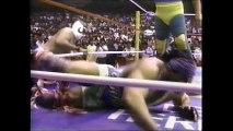 Fishman/Universo 2000/La Parka vs Konnan/Perro Aguayo/Lizmark (AAA March 1993)