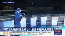 A J-1, dans les coulisses du débat entre les 11 candidats à la présidentielle sur BFMTV