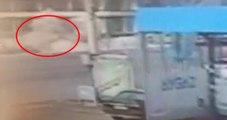 Mersin'de Polis Aracına Bombalı Saldırı Anı Kamerada
