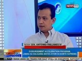 NTG: Panayam kay Sen. Antonio Trillanes IV kaugnay sa DAP