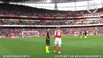 Sergio Aguero brilliantly tricks Monreal into admitting his handball on camera