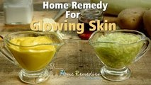 Video How To Get Glowing Skin   Glowing Skin Home Remedy   Home Remedies With Upasana