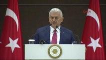 Başbakan Yıldırım'dan CHP'li Bozkurt'a Alçak, Kimsin Sen Türk Milletine Hakaret Ediyorsun Haddini...
