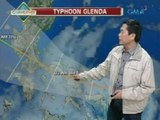 UH: Typhoon Glenda, inaasahang magla-landfall ngayong araw
