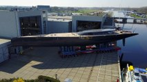 "Royal Huisman Launches ""The Beast"""
