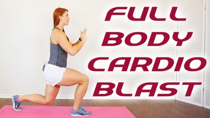 20 Minute Total Body Workout, Cardio Fat Burning Routine, Get Fit At Home with Frances