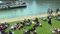 """Parigi inaugura """"Rives de Seine"""", una mini città senza auto"""