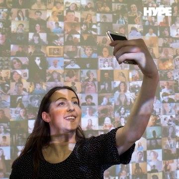 Selfies as art?