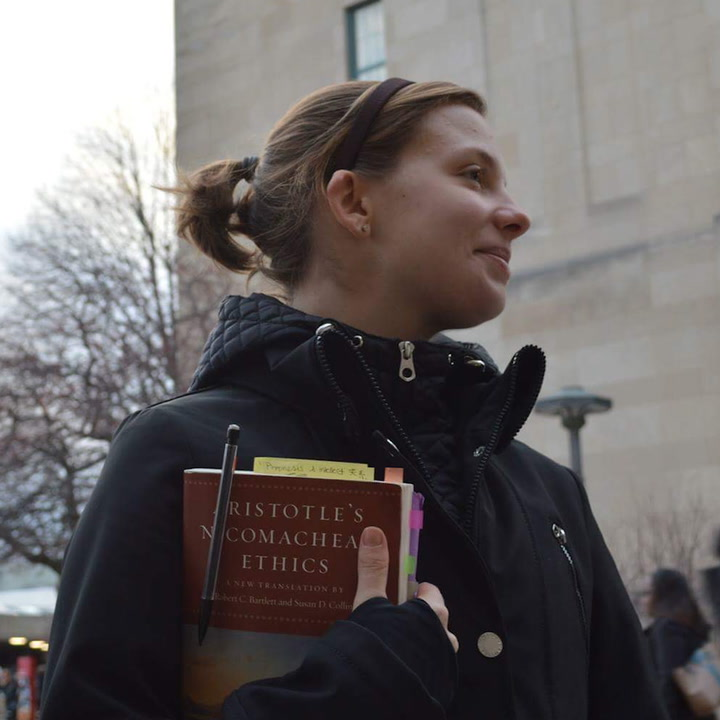 This college student teaches philosophy to the homeless
