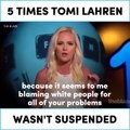 5 times Tomi Lahren wasn't suspended