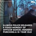 New footage shows an officer repeatedly punching a teenager