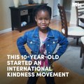 This 10-year-old started an international kindness movement  [Mic Archives]