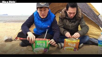 24 HOUR CHALLENGE ON A DESERT ISLAND OF SOUTH KOREA