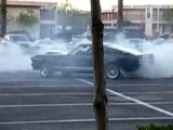 Eleanor shelby gt500 donuts burnout