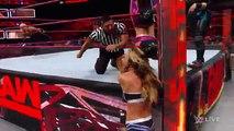 Bayley, Sasha Banks & Dana Brooke vs. Charlotte Flair, Nia Jax & Emma- Raw, April 3, 2017