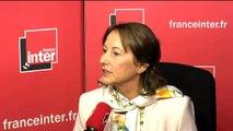 """Ségolène Royal sur le traitement du sujet environnementale par les candidats : """"ceux qui ont davantage porté ces valeurs sont Benoît Hamon et Jean-Luc Mélenchon"""""""