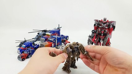 Transformers Commander & Voyager Optimus Prime Megatron Sentinel Prime Blackout Car Robot Toys