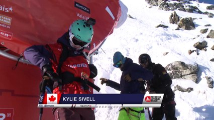 Run Kylie Sivell - 2nd place - Swatch Xtreme Verbier FWT17
