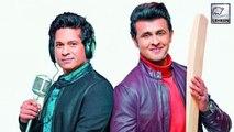 Sachin Tendulkar Sings Song With Sonu Nigam