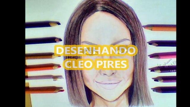 Desenhando Cleo Pires
