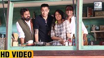 Aamir Khans Nephew Imran Khan Shows COOKING Skills
