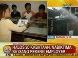 UB: Halos 20 kabataan sa Calumpit, Bulacan, nabiktima ng isang pekeng employer