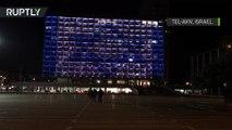 Hommage à Saint-Pétersbourg : Tel-Aviv illuminée aux couleurs de la Russie