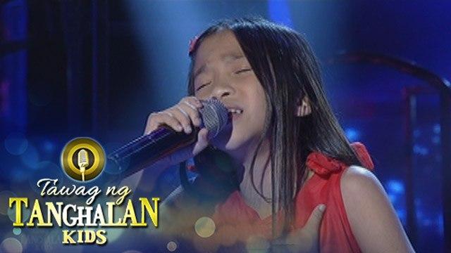 Tawag ng Tanghalan Kids: Bhie Balinas | Mukha Ng Buhay