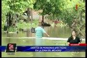 Fuertes lluvias provocan inundaciones en Ecuador