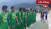 Indian Occupied Kashmir club cricketers wear Pakistani jerseys, sang Pakistani national anthem