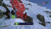 Adrénaline - Ski : Le run vainqueur de Reine Barkered sur l'Xtreme Verbier 2017