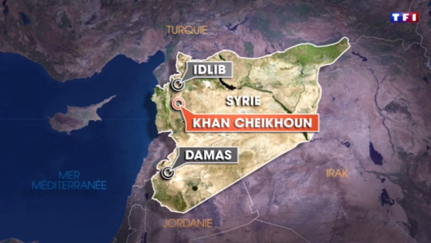 Syrie: au moins 58 morts dans un attaque «chimique», selon l'opposition syrienne