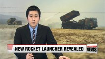 S. Korean Army unveils multiple rocket launcher Chunmoo for first time