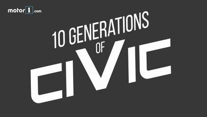 10 générations de Honda Civic
