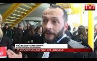 Bordeaux : les avocats en colère contre le tribunal